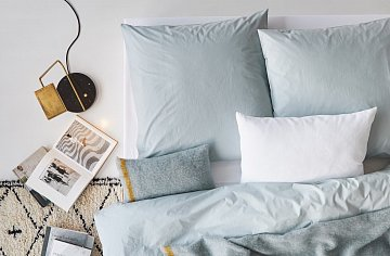 Bed Linen Collection Standard Washed Cotton Pillow Case